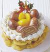 Xmas丹波栗バウムケーキ