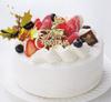 苺の生デコレーションケーキ